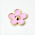 Bling Flower Alloy Metal Rhinestone DIY Phone Case Cover Deco Kit - Pink 04