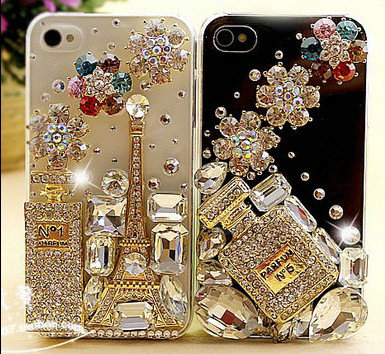 diy rhinestone phone case - photo #7