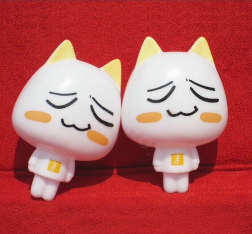 Buy Wholesale DIY Deco Kit 3D Sucker doll White Cat Bling Cell Phone Crystal Cases Cover from ...