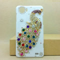 Peacock Bling Crystal Case Rhinestone Cover shell for OPPO finder X907 - Color