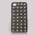 Round Rivet Bling Crystal Metal DIY Cell Phone Case shell Cover Deco Den Kit