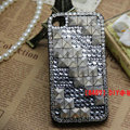 Square Rivet Bling Crystal Metal DIY Cell Phone Case shell Cover Deco Den Kit