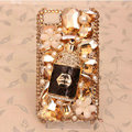 Wine Bottle Bling Crystal Case Rhinestone Cover shell for iPhone 4G 4S - Champagne