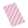 Pink Diagonal stripes Crystal Bling Rhinestone mobile phone DIY Craft Jewelry Stickers