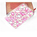 Rose 3D Crystal Bling Rhinestone mobile phone DIY Craft Jewelry Stickers