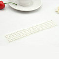 White Pearl Bling Rhinestone mobile phone DIY Craft Jewelry Stickers