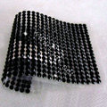 Black Diamond Crystal Bling Rhinestones mobile phone DIY Craft Jewelry Stickers