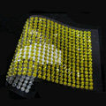 Yellow Diamond Crystal Bling Rhinestones mobile phone DIY Craft Jewelry Stickers