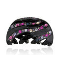 Hair Jewelry Sparkly Diamond Crystal Rhinestone Hair Clip Claw Clamp - Black