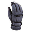 Allfond men winter thermal outdoor sport cold-proof ski motorcycle riding leather Gloves - Grey