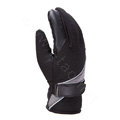 Allfond men winter thermal outdoor sport cold-proof ski motorcycle riding velvet leather Gloves - Black