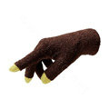 Allfond women touch screen gloves stretch winter warm unisex cashmere gloves - Coffee
