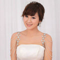 Hot Sell Flower Pearl Crystal Wedding Bridal Shoulder Chain Strap Necklace jewelry
