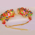 Beautiful Bride Classic Costume Tassel Multicolor Phoenix Coronet Hair Clasp Cheongsam Married Bridal Hair Accessories