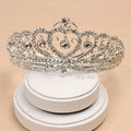 Luxury Fashion Wedding Jewelry Flower Crystal Tiaras Bridal Rhinestone Crown Hair Accessories
