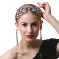 Luxury Retro Wedding Jewelry Baroque Crystal Large Tiaras Bridal Rhinestone Crown Hair Accessories