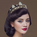 Luxury Retro Wedding Jewelry Crystal Mountain Tiaras Bridal Crown Rhinestone Hair Hoop Accessories