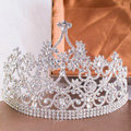 Luxury Wedding Jewelry Crystal Tiaras Bridal Queen Flower Crown Rhinestone Hair Accessories