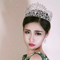 Luxury Wedding Jewelry Flower Crystal Tiaras Bridal Rhinestone Queen Crown Hair Accessories