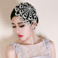 Wedding Exaggerated Headdress Jewelry Cobweb Crystal Bridal Headband Rhinestone Hair Accessories