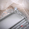 Fashion Wedding Jewelry Water drops Crystal Tiaras Bridal Crown Rhinestone Hair Accessories