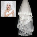 Luxury Cathedral 300cm Long Handmade Lace Flower Bridal Wedding Veil Bride Deco