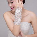 Elegant Pearl Rhinestone Lace Flower Bridal Wristlet Wedding Dress Beads Bracelet Chain Accessories