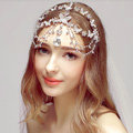 Newest Butterfly Rhinestone Pendent Tassel Frontlet Bridal Crown Wedding Hair Headpiece Accessories