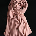 Colorful Unisex Scarf Shawl Winter Warm Cashmere Solid Panties 180*60CM - Maroon