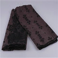Fashion Scarf Shawl Women Bamboo Fiber Printing Cashew Silk 180*100CM - Brown