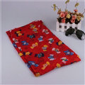Fashion Women Scarf Print Animal Bamboo Fiber Scarves Wraps 180*90CM - Red