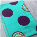 Geometric Women Pashmina Shawls Dot Cashmere Warm Scarves Wraps 185*68CM - Green