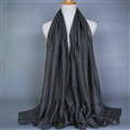 Good Solid Women Scarf Dot Bamboo Fiber Warm Scarves Wraps 180*95CM - Grey