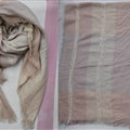 Plaid Scarf Shawls Women Winter Warm Cashmere Solid Wholesale 140*140CM - Pink