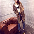 Winter Fashion Female Sweater Cardigan Jacket Thick Warm - Coffee