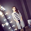 Winter Sweater Fashion Cardigan Solid Female British Style Hollow Thin - Grey