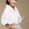 Cute Bridal Cashmere Scarf Shawls Women Winter Warm Solid Panties 100*50CM - White
