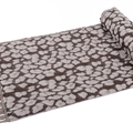 Fringed Leopard Print Scarves Wrap Women Winter Warm Acrylic Panties 195*60CM - Brown