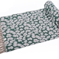 Fringed Leopard Print Scarves Wrap Women Winter Warm Acrylic Panties 195*60CM - Green