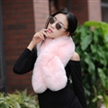 Funky Bridal Fur Scarf Shawls Women Winter Warm Solid Panties 120*20CM - Pink