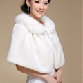 Pretty Bridal Bowknot Rabbit Wool Scarf Shawls Women Winter Warm Solid Panties 100*60CM - White