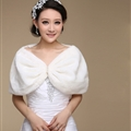 Pretty Bridal Pearl Cashmere Scarf Shawls Women Winter Warm Solid Panties 100*30CM - White