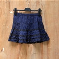 Cute Dresses Summer Ladies Leopard Print Short House - Blue