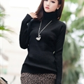 Fashion Dresses Ladies Wool Leopard Print Sexy Short Semi Bodycon - Khaki
