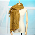 Classic Skull Scarf Scarves For Women Winter Warm Cotton Panties 160*160CM - Curcumin