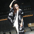 Funky Skull Scarves Wrap Women Winter Warm Cashmere Panties 200*60CM - Black