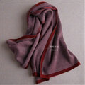 Popular Fringe Scarves Wraps Women Winter Warm Wool Panties 195*30CM - Dark Red