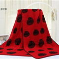 Unique Skull Scarf Shawls Women Winter Warm Wool Panties 180*70CM - Red