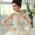 Gorgeous Hollow Lace Flower Rhinestone Bridal Necklace Shoulder Chain Wedding Accessories