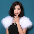 Elegant Real Ostrich Fur Bridal Wedding Shawls Women Winter Warm Wraps Cape - White